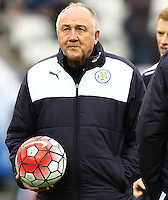Leicester City head of recruitment Steve Walsh during the Barclays Premier League match between Leicester City and Swansea City played at The King Power Stadium, Leicester on 24th April 2016