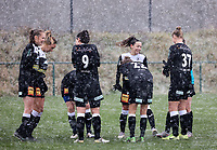 Eendracht Aalst players pictured before a friendly female soccer game between SC Eendracht Aalst and Club Brugge YLA on Saturday 16 January 2021 at Zandberg Youth Complex in Aalst , Belgium . PHOTO SPORTPIX.BE   SPP   SEVIL OKTEM