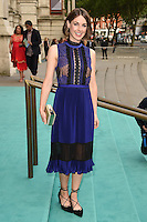 Jessica Raine<br /> arrives for the V&A Summer Party 2016, South Kensington, London.<br /> <br /> <br /> ©Ash Knotek  D3135  22/06/2016