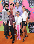 Jackie Chan & The Smith Family at Nickelodeon's 23rd Annual Kids' Choice Awards held at Pauley Pavilion in Westwood, California on March 27,2010                                                                                      Copyright 2010 © DVS / RockinExposures