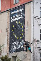 2019/10/21 Berlin | Protest gegen Feier 30 Jahre Mauerfall