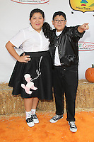 UNIVERSAL CITY, CA - OCTOBER 21:  Raini Rodriguez and Rico Rodriguez at the Camp Ronald McDonald for Good Times 20th Annual Halloween Carnival at the Universal Studios Backlot on October 21, 2012 in Universal City, California. © mpi28/MediaPunch Inc. /NortePhoto