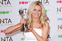 Tess Daly<br /> in the winners room at the National TV Awards 2017 held at the O2 Arena, Greenwich, London.<br /> <br /> <br /> ©Ash Knotek  D3221  25/01/2017