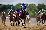 June 07, 2014: Bayern with Gary Stevens aboard wins the Woody Stevens Stakes  on Belmont Stakes day at Belmont Park in Elmont New York. Alex Evers/ESW/CSM