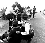 The Beatles 1967 Paul McCartney during filming  Magical Mystery Tour on Bodmin Moor. ..© Chris Walter..