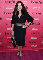 HOLLYWOOD, LOS ANGELES, CA, USA - SEPTEMBER 26: Lisa Vanderpump arrives at the Benefit Cosmetics: Wing Woman Weekend Kick-Off Party held at the Benefit Tattoo Parlor on September 26, 2014 in Hollywood, Los Angeles, California, United States. (Photo by Xavier Collin/Celebrity Monitor)