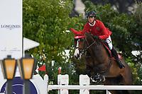 10th September 2021; Circo Massimo Stadium Rome, Italy; Longines Global Equestrian Champions Tour:   Ben Maher