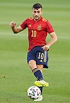 Spain's Oscar Rodriguez during European Under-21 Championship 2021 qualifying round match. October 13,2020.(ALTERPHOTOS/Acero)