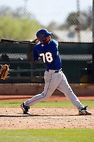 Esteban Lopez - Los Angeles Dodgers - 2009 spring training.Photo by:  Bill Mitchell/Four Seam Images