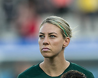 GRENOBLE, FRANCE - JUNE 18: Alanna Kennedy #14 of the Australian National Team during a game between Jamaica and Australia at Stade des Alpes on June 18, 2019 in Grenoble, France.