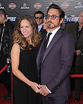 Robert Downey Jr. and Susan Downey at Marvel's The Avengers World Premiere held at The El Capitan Theatre in Hollywood, California on April 11,2012                                                                               © 2012 DVS/Hollywood Press Agency