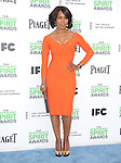Angela Bassett<br />  attends The 2014 Film Independent Spirit Awards held at Santa Monica Beach in Santa Monica, California on March 01,2014                                                                               © 2014 Hollywood Press Agency