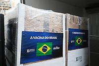SÃO PAULO, SP, 16.06.2021 - COVID-19-SP - João Doria, Governador de São Paulo, anuncia o início do envio das novas remessas de doses da vacina contra o novo coronavírus ao Programa Nacional de Imunizações (PNI) do Ministério da Saúde, no Instituto Butantan, nesta quarta-feira, 16. (Foto Charles Sholl/Brazil Photo Press)