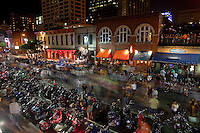 Although the event is only officially scheduled to start on Thursday and end on Sunday there are event all around and in Austin carrying out that party including dealerships, vendors and bars. This year's estimated attendees is in the 250,000's