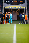 Hull players gather in the tunnel, before Kick off. Hull 2 Sunderland 2, League One 20th April 2021.