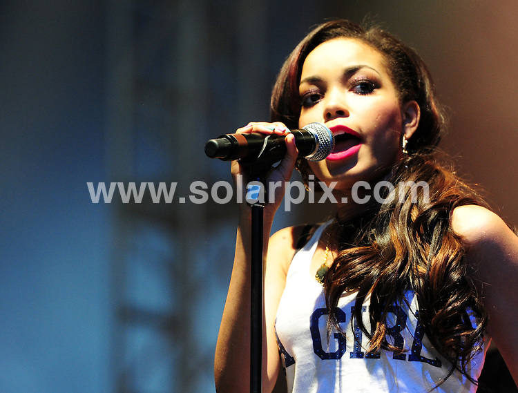 **ALL ROUND PICTURES FROM SOLARPIX.COM**                                             **WORLDWIDE SYNDICATION RIGHTS**                                                                                  Dionne Bromfield, live on stage at V Festival 2011, Chelmsford, Essex.                                                                    .This pic:     Rihanna                                                                                         JOB REF:  13865      MZF       DATE:   21/08/2011                                                         **MUST CREDIT SOLARPIX.COM OR DOUBLE FEE WILL BE CHARGED**                                                                      **MUST AGREE FEE BEFORE ONLINE USAGE**                               **CALL US ON: +34 952 811 768 or LOW RATE FROM UK 0844 617 7637**