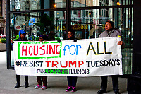 Housing for All Resist Trump Tuesdays Chicago Illinois March 21st, 2017