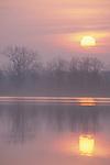 Sunset Portage Lake