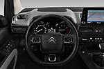Car pictures of steering wheel view of a 2019 Citroen Berlingo Shine 5 Door MPV