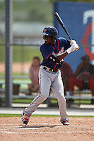 Minnesota Twins Nick Gordon (11) during a minor league Spring Training intrasquad game on March 15, 2016 at CenturyLink Sports Complex in Fort Myers, Florida.  (Mike Janes/Four Seam Images)