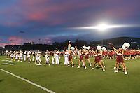 NWA Democrat-Gazette/MICHAEL WOODS • @NWAMICHAELW<br /> The Arkansas Razorbacks vs the Duke Blue Devils Friday, August 26, 2016 at Razorback field in Fayetteville.