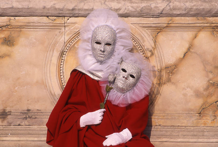 Europe, ITA, Italy, Venetien , Venice, Carnival, Typical fancy dress, Mask, ....[ For each utilisation of my images my General Terms and Conditions are mandatory. Usage only against use message and proof. Download of my General Terms and Conditions under http://www.image-box.com or ask for sending. A clearance before usage is necessary...Material is subject to royalties. Each utilisation of my images is subject to a fee in accordance to the present valid MFM-List...Contact | archive@image-box.com | www.image-box.com ]