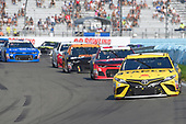 #19: Daniel Suarez, Joe Gibbs Racing, Toyota Camry STANLEY, #3: Austin Dillon, Richard Childress Racing, Chevrolet Camaro Dow