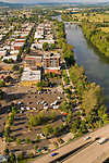 Aerial View of Riverside County Park in Clackamas, Oregon