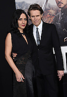 Willem Dafoe + Giada Colagrande @ the premiere of 'The Great Wall' held @ the Chinese theatre. February 15, 2017 , Los Angeles, USA. # PREMIERE DU FILM 'LA GRANDE MURAILLE' A LOS ANGELES