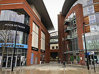 General view of the Eden shopping centre in the town centre on March 19, 2020 in High Wycombe, United Kingdom during the COVID-19 pandemic causing people to panic buy items. Photo by Andy Rowland.