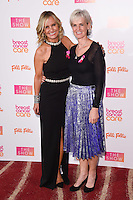 Jacquie Beltrao and Judy Murray<br /> at the Breast Cancer Care fashion Show 2016, London.<br /> <br /> <br /> ©Ash Knotek  D3193  02/11/2016