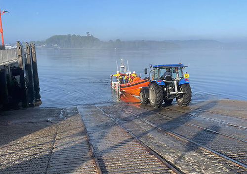 Portaferry Lifeboat Launches After Person Falls at Ardglass Sea Wall