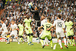 Real Madrid's Keylor Navas during Champions League 2015/2016 Semi-Finals 2nd leg match at Santiago Bernabeu in Madrid. May 04, 2016. (ALTERPHOTOS/BorjaB.Hojas)