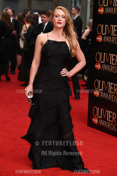 Camilla Kerslake arrives for the Olivier Awards 2015 at the Royal Opera House Covent Garden, London. 12/04/2015 Picture by: Steve Vas / Featureflash