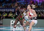 Fast5 2017<br /> Fast 5 Netball World Series<br /> Hisense Arena Melbourne<br /> Match <br /> England v Malawi<br /> Natalie Panagarry<br /> <br /> <br /> <br /> Photo: Grant Treeby
