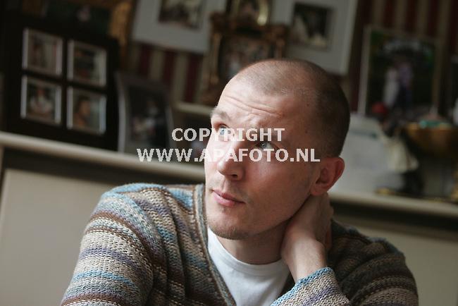 Nijmegen, 080206<br />Arjan Ebbinge, voetballer. Hij heeft een paar  weken in coma gelegen na een trap in zijn maag tijdens een wedstijd.<br />Foto: Sjef Prins - APA Foto