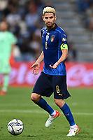 8th September 2021; Mapei Stadium, Città del Tricolore, Reggio Emilia, Italy: FIFA World Cup 2022 qualification, Italy versus Lithuania:  Jorginho