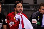 Silvio Heinevetter (Deutschland #12) ; EHF EURO-Qualifikation / EM-Qualifikation / Handball-Laenderspiel: Deutschland - Estland am 02.05.2021 in Stuttgart (PORSCHE Arena), Baden-Wuerttemberg, Deutschland, Photo: Sandy Dinkelacker 2021<br /> <br /> Foto © PIX-Sportfotos *** Foto ist honorarpflichtig! *** Auf Anfrage in hoeherer Qualitaet/Aufloesung. Belegexemplar erbeten. Veroeffentlichung ausschliesslich fuer journalistisch-publizistische Zwecke. For editorial use only.