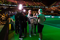 ABN AMRO World Tennis Tournament, 13 Februari, 2018, Tennis, Ahoy, Rotterdam, The Netherlands<br /> <br /> Photo: www.tennisimages.com
