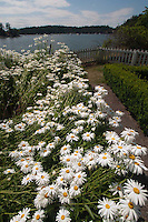 Formal Garden at English Camp, San Juan Island, Washington, US