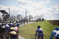 peloton sets out for what promises to be a splendid 33th Tro Bro Léon 2016
