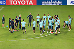 Players of Qatar national team practice during a training session ahead their 2018 FIFA World Cup Russia Final Qualification Round Group A match against Korea Republic at Suwon World Cup Stadium on 05 October 2016, in Suwon, Korea. Photo by Victor Fraile / Power Sport Images