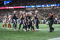 FOXBORO, MA - OCTOBER 10:  during a game between New York Giants and New England Patriots at Gillettes on October 10, 2019 in Foxboro, Massachusetts.