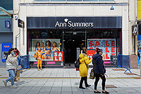 Pictured: Captain Beany outside the Ann Summers shop in Cardiff, Wales, UK.<br /> Re: Cardiff West independent candidate, Captain Beany where the current elected AM is First Minister for Wales Mark Drakeford, has been canvassing in Cardiff, Wales, UK.<br /> If elected, my first priority shall be renaming the Wales Parliament to that of 'Superhero Space Centre Of Excellence' and I shall dismiss all the existing serving MSs and replace them all with our League of Superheroes' to take up various positions in relation to their superhero powers within the next five years and to advocate an annual 'National Superhero Day' on behalf of the nation at the Principality Stadium in Cardiff for a national registered charity.