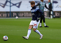 Charlie Kelman of Queens Park Rangers warming up during Queens Park Rangers vs Watford, Sky Bet EFL Championship Football at The Kiyan Prince Foundation Stadium on 21st November 2020