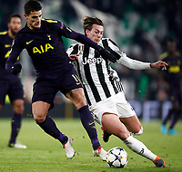 20180213 TORINO-CALCIO: UEFA CHAMPIONS LEAGUE LA JUVENTUS ED IL TOTTENHAM PAREGGIANO 2-2