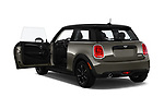Car images close up view of a 2019 Mini Cooper Hardtop 2 Door 3 Door Hatchback doors