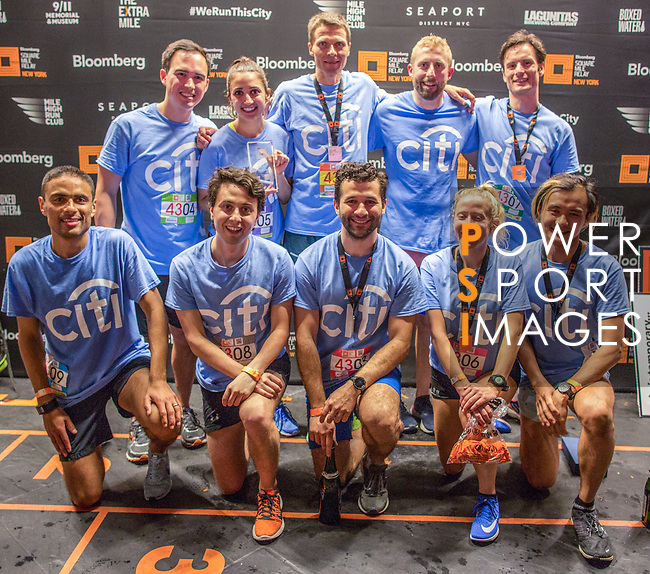 The Extra Mile 2018 -  Winners of the New York race on 3 May 2018, in New York, USA. Photo by Fernando Alonso/ Power Sport Images
