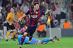 2014.10.21 Champions FC Barcelona v Ajax