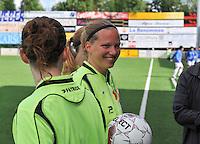 Belgium A - North Korea friendly game at Koksijde KVV Stadium - Belgie - Noord Korea : .Leen Martens.foto David Catry / Joke Vuylsteke / Vrouwenteam.be